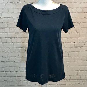 Ann Taylor LOFT Blue short sleeve t-shirt top NWT